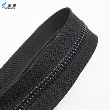 Eco-friendly metal teeth zipper roll