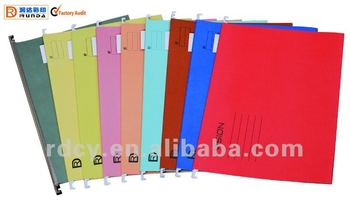 Hot sale Paper Suspension File with Plastic Tab