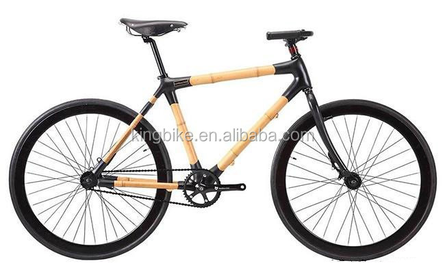 The New Concept Attractive Bamboo Bike