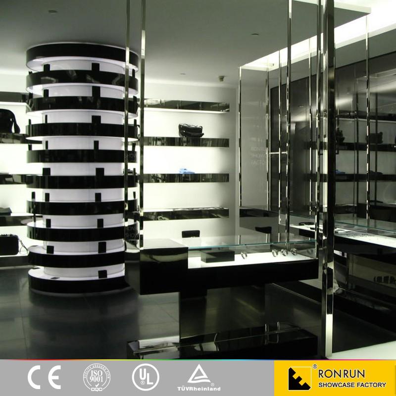 Furniture Showcase Interior Design Easley Sc ~ Garment showcase clothing store furniture for interior
