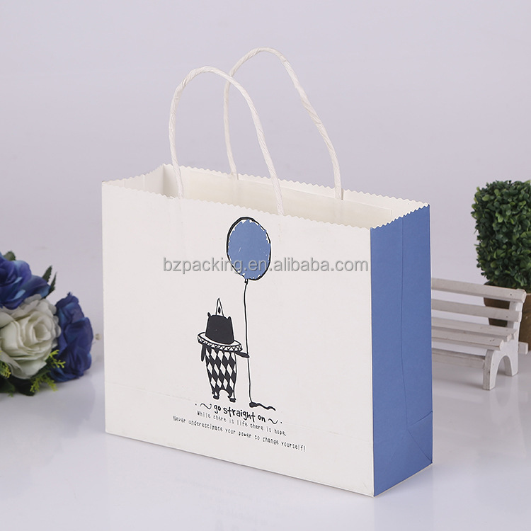 Wholesale TOP Quality Reusable white paper bags bulk