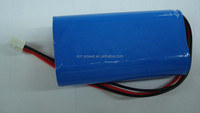 18650 1s2p lithium ion battery pack 3.7v 4400mah