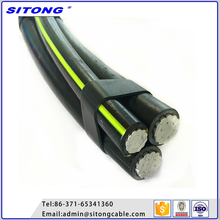 china suppliers 3 core power cable xlpe overhead cable