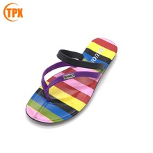 middle East latest ladies slippers shoes and sandals woman pvc sandals with good price