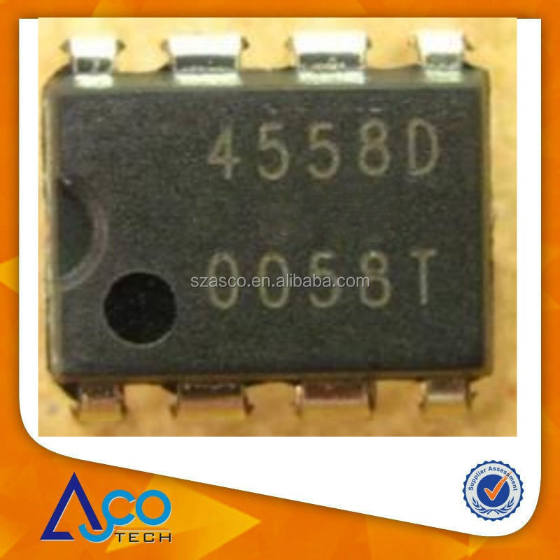 JRC4558 IC DIP-8 Fever dual op amp IC original new integrated circuits from China supplier