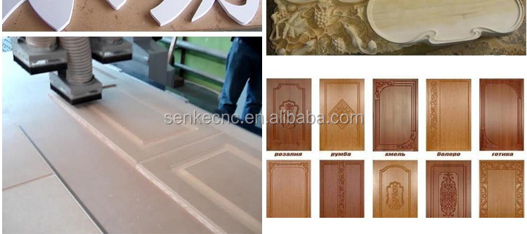 4*8 ft Solid wood,mdf,3d 4 heads atc cnc router wood with drilling package