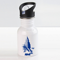 400ml Sports Stainless Steel Water Bottle with straw,Sublimation stainless steel sports water bottle with straw cap