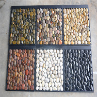 Garden decoration Marble Polished pebbles natural pebble stone paver