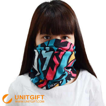 Personlized multifunctional seamless tube bandanas headwear with small MOQ