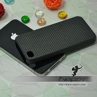 High quality carbon fiber case for iphone 4, carbon fiber screen protector for iphone 4