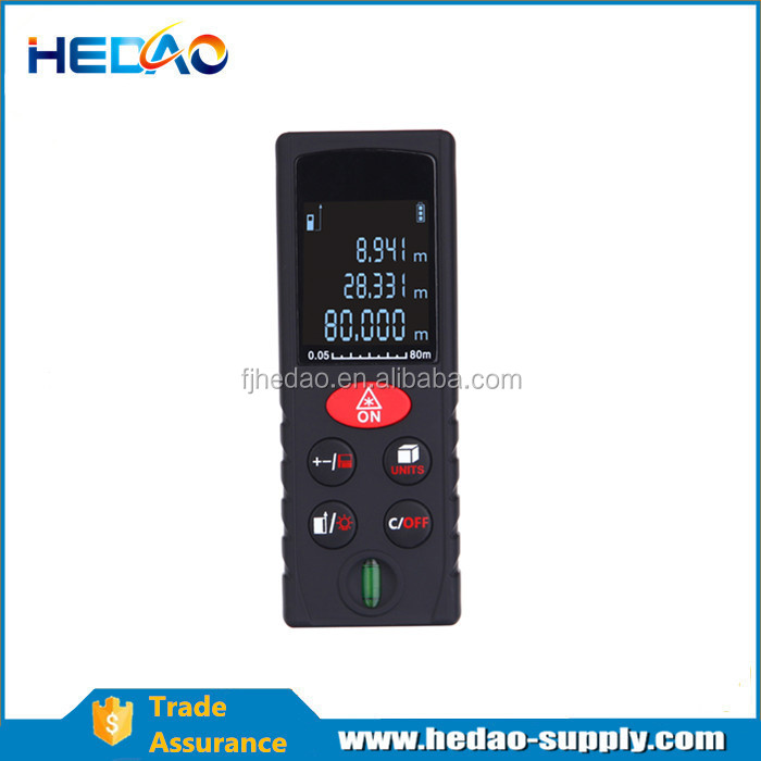 Laser Distance Meter Height Finder Handheld Digital Altimeter