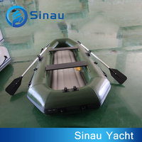 fishing pvc boat inflatable 280cm 4 person