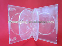 22mm clear multi dvd case
