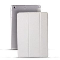 Retail Stand Ultrathin Case Transparent Anti Fingerprint PC Back Cover Smart Case For iPad 2 3 4