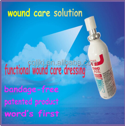 pressure sores or skin ulceration gel treatment efficient medical device --wound care sprays