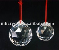 crystal feng shui ball with hanging MH-12133