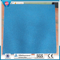 EPDM layer eco-friendly RUBBER PRODUCTS ATHLETIC FLOORING MATS