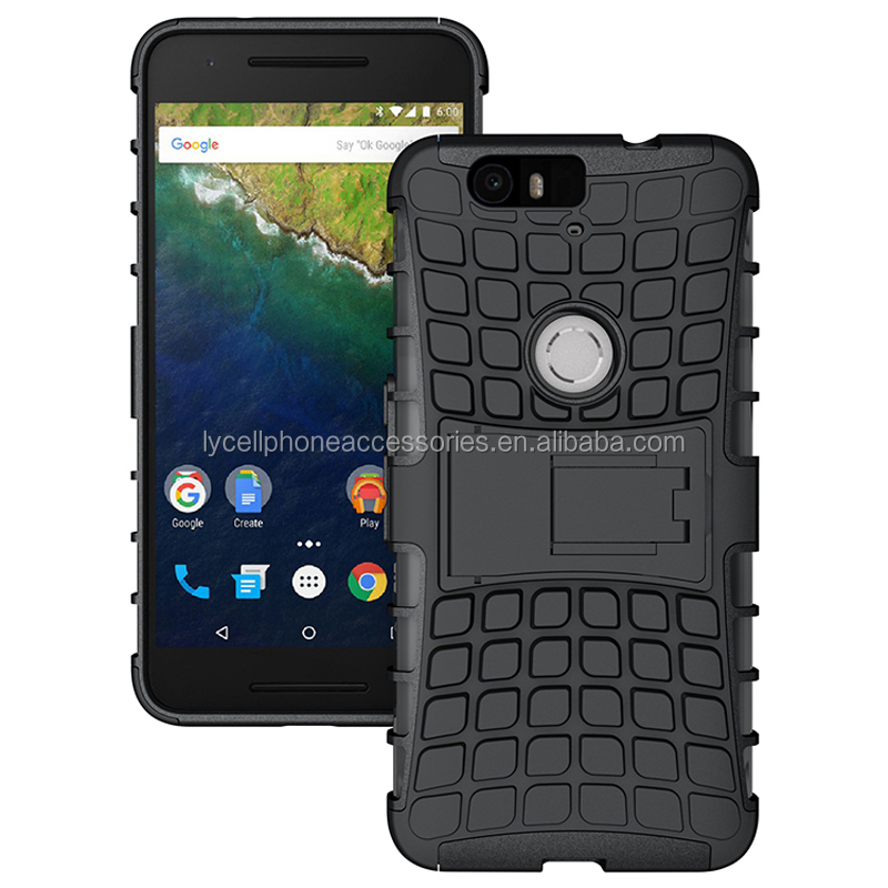 supply stander hybrid slim armor case for google nexus 6p cover