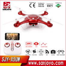 Syma X5UW Flight Plan 2.4G Rc Drone Flying Track With 720P Camera,FPV Quadcopter