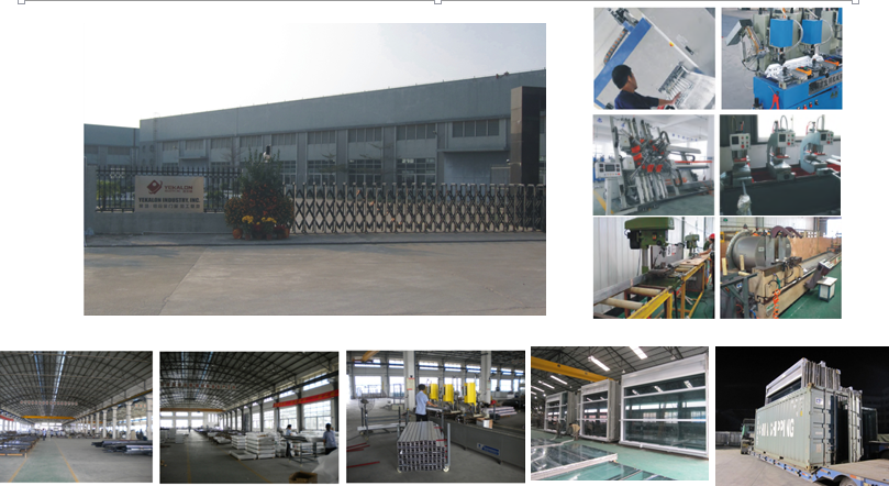 Yekalon Curtain Wall System 2015 New High Quality Aluminum Composite Exterior Decorative Wall