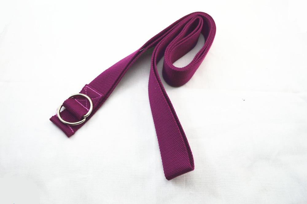 Fabric density 100% cotton organic yoga strap