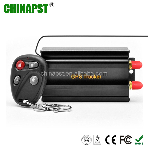 Factory Cheap Free PC Software Accident Anti-theft GPS Car Alarm PST-VT103B