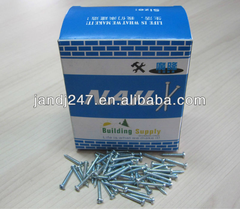 Round Head self tapping wood Screw