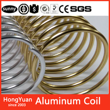 "Navy color stationery or office & schoocoil binding 1"" aluminum 1inch aluminum wire coils spiral coil binding aluminum"