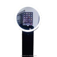 Portable iPad kiosk Economic and Efficient photo booth printer machine kiosk lcd digital signage
