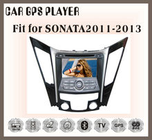 for Hyundai sonata 2011-2013 double din car radios with navigation system bluetooth TV wifi