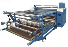 1.7m wide roller style sublimation printing heat transfer machine rotary calander for transfer printing in 1.7m/2m wide
