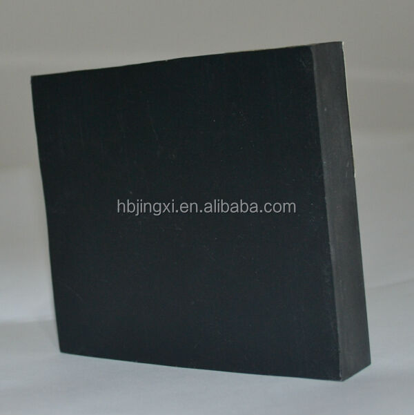shiny black pvc sheets