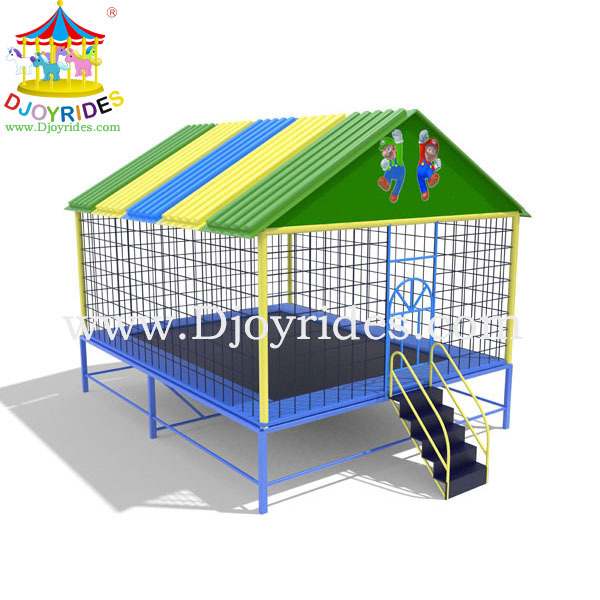 best China trampoline park,indoor trampoline,trampoline with high ladders