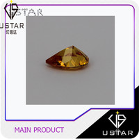 3*3mm Fat Triangle Diamond Cutting Loose Cubic Zirconia Stone for Jewelry