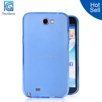 tpu case cell phone accessories for samsung galaxy note 2 back cover case