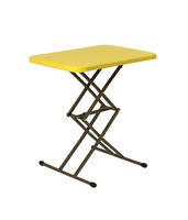 Adjust-Height Folding Table