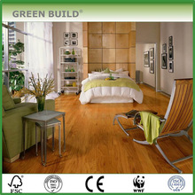 Flat Golden Indoor Solid Teak Wood Hardwood Flooring Indonesia
