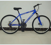 26 blue bike without fenders HL-M050