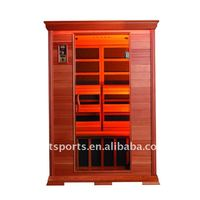 2 person infrared sauna room