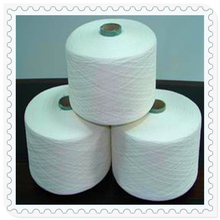 Indonesia Importer Container Buy Carded Cotton Blended Close Virgin Polyester Spun Yarn 30/1
