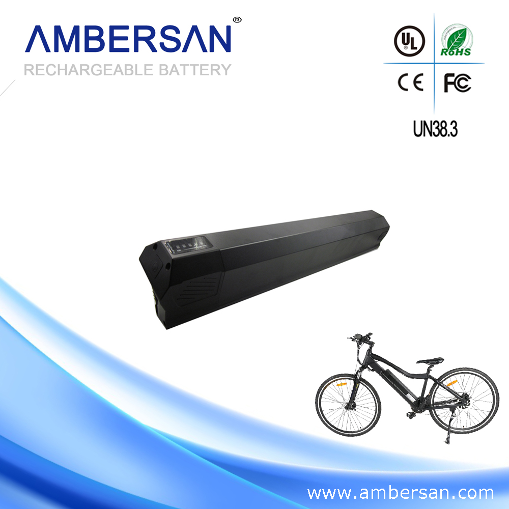 High performance 36V10Ah rechargeable lithium ion battery pack for ebike