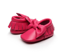 best selling soft sole 0-30months inner ordorless authentic pig leather moccasins