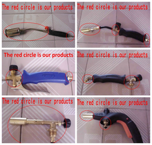 Gas welding torch accessories nozzle in JIEWEI