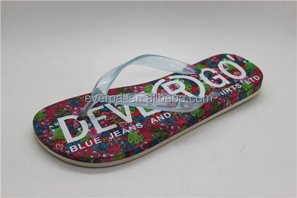 Air Blowing PVC Soft Flip Flops