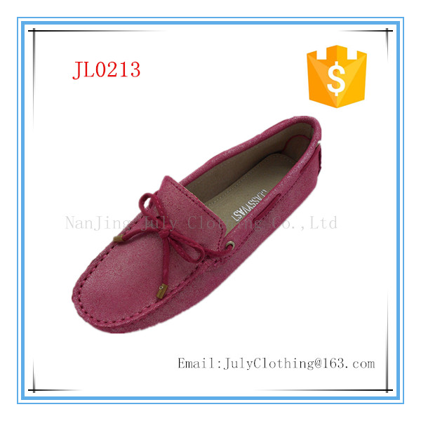 New women's Driving Car Slip On Casual Moccasin Suede Leather Loafers Shoes