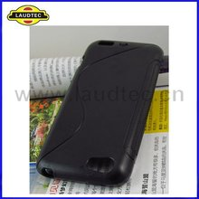 S Line TPU gel Case Back Cover for HTC one V newest product