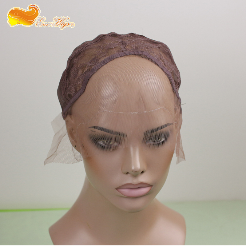 Eseewigs Top Quality Human Full Lace wigs Making Cap in Stock