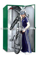 Bike storage containers outdoor bike lockers steel bike locker for sale