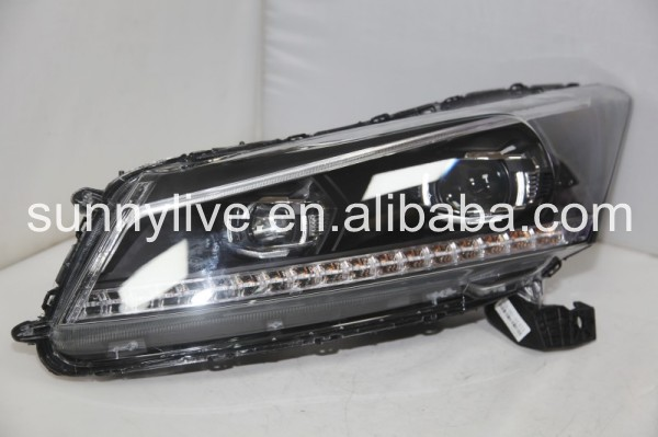 For HONDA Accord LED Devil eye head lamp YZ2008-2011