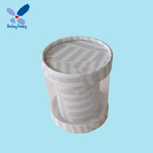 2017 New Design Hot Sell Cheap Customized Printed Plastic Paper Cylinder Tubes Cardboard Round Hat Box